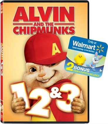 Alvin & the Chipmunks 1-3 (3 DVDs)
