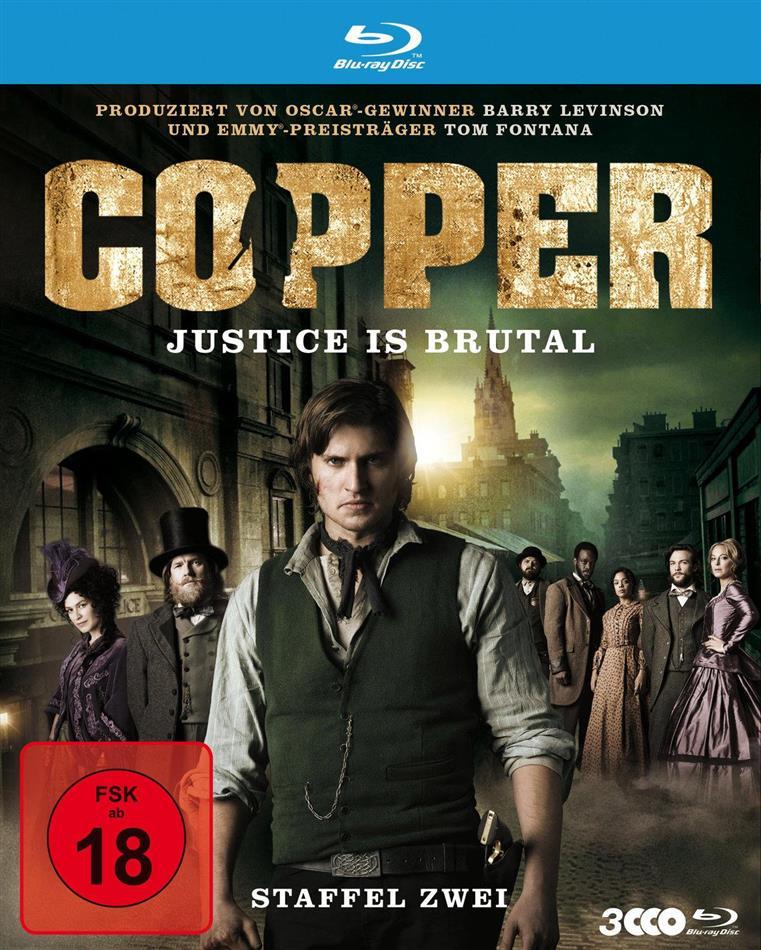 Copper - Justice is brutal - Staffel 2 (3 Blu-rays)