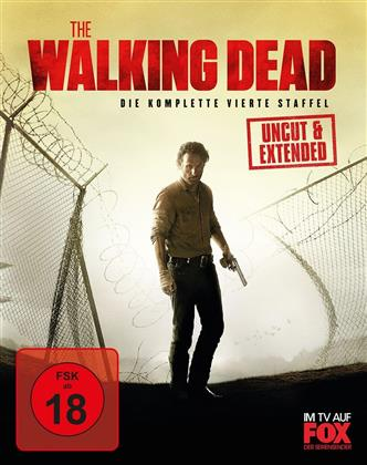 The Walking Dead - Staffel 4 (Extended Edition, Uncut, 5 Blu-rays)