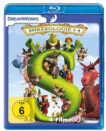 Shrekologie 1 - 4 (4 Blu-rays)