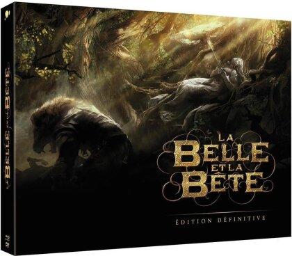 La Belle et la Bête (2013) (Édition Définitive, Limited Edition, 2 Blu-rays + DVD + Buch)