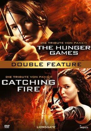 Die Tribute von Panem 1 - The Hunger Games (2012) / Die Tribute von Panem 2 - Catching Fire (2013) (2 DVDs)