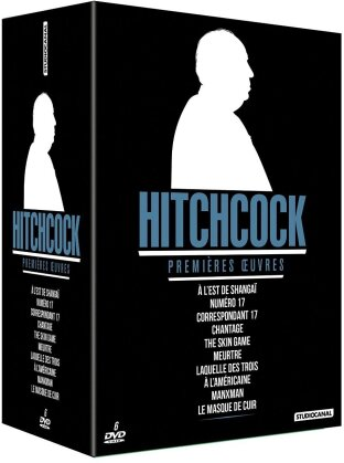 Hitchcock - Premières oeuvres (n/b, 6 DVD)