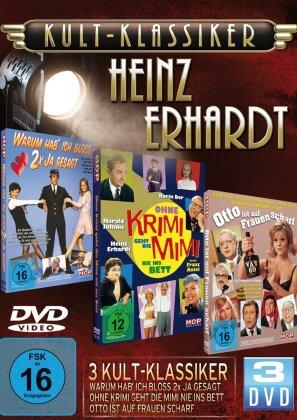 Heinz Erhardt (Kult-Klassiker, Digibook, 3 DVD)