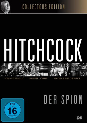 Der Spion (1936) (Alfred Hitchcock Collection, Collector's Edition, s/w)