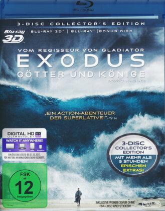 Exodus - Götter und Könige (2014) (Collector's Edition, Blu-ray 3D + 2 Blu-rays)