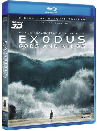 Exodus - Gods and Kings (2014) (Collector's Edition, Blu-ray 3D + 2 Blu-rays)