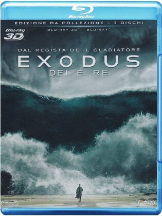 Exodus - Dei e Re (2014) (Collector's Edition, Blu-ray 3D + 2 Blu-rays)