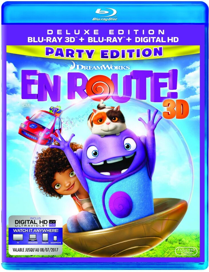 En Route (2015) (Édition Deluxe, Blu-ray 3D + Blu-ray)