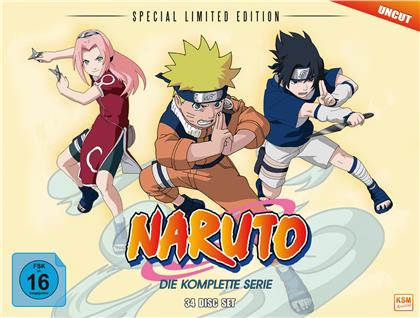 Naruto - Die komplette Serie (Limited Special Edition, Uncut, 34 DVDs)