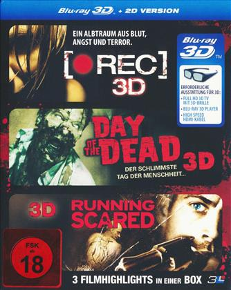 (Rec) 3D / Day of the Dead 3D/ Running Scared (3 Blu-ray 3D (+2D))