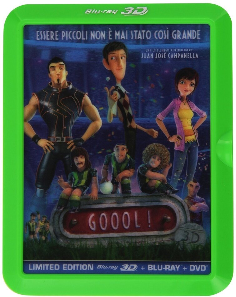 Goool! (2013) (Limited Edition, Blu-ray 3D + Blu-ray + DVD)