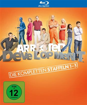 Arrested Development - Staffel 1-3 (6 Blu-rays)