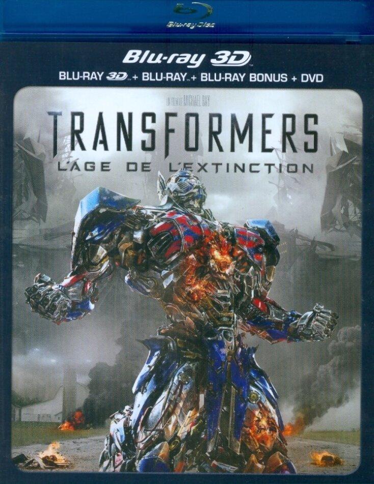 Transformers 4 - L'âge de l'extinction (2014) (Blu-ray 3D + Blu-ray + DVD)