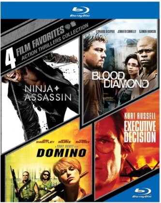 Action Thrillers Collection - 4 Film Favorites (4 Blu-rays)