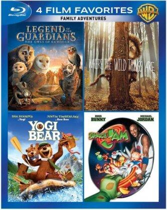 Family Adventures - 4 Film Favorites (4 Blu-rays)