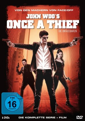 Once a Thief - Die komplette Serie + Film (6 DVDs)