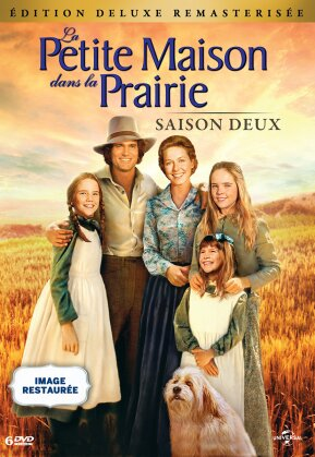 La petite maison dans la prairie - Saison 2 (Deluxe Edition, Remastered, 6 DVDs)