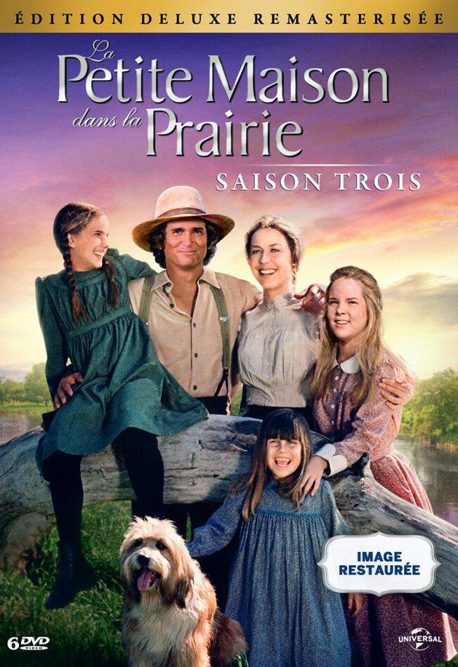 La petite maison dans la prairie - Saison 3 (Deluxe Edition, Remastered, 6 DVDs)
