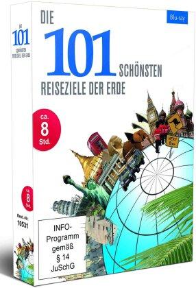 Die 101 schönsten Reiseziele der Erde - Vol. 1-4 (4 Blu-rays)