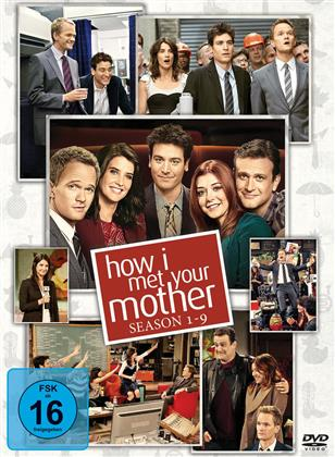 How I Met Your Mother - Die komplette Serie: Staffel 1-9 (27 DVDs)
