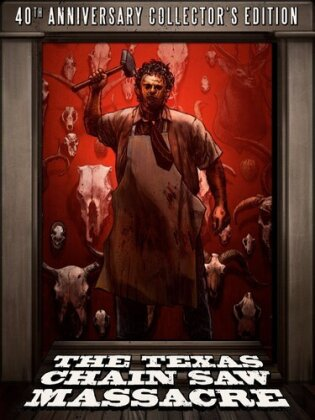 The Texas Chainsaw Massacre (1974) (40th Anniversary Collector's Edition, Blu-ray + DVD)