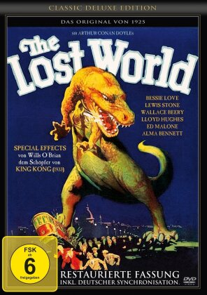 The Lost World - (Classic Deluxe Edition - Restaurierte Fassung) (1925)