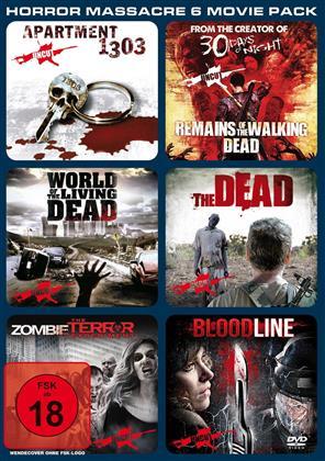Horror Massacre 6 Movie Pack (2 DVDs)