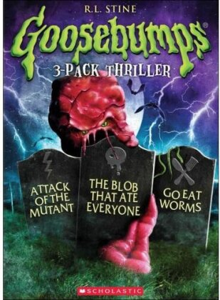 Goosebumps - Attack of the Mutant / The Blob that ate Everyone / Go eat Worms (3 DVDs)