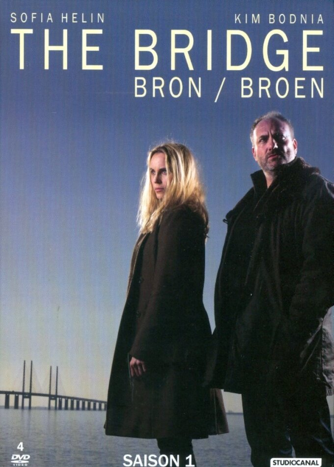 The Bridge - Bron / Broen - Saison 1 (BBC, 4 DVDs)