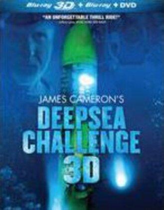 James Cameron's Deepsea Challenge (2014) (Blu-ray 3D + DVD)