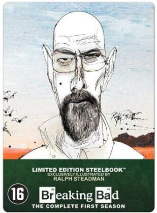 Breaking Bad - Saison 1 (Limited Edition, Steelbook, 3 DVDs)