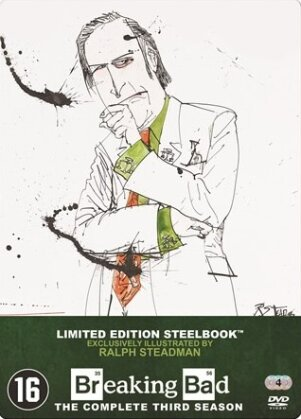 Breaking Bad - Saison 3 (Limited Edition, Steelbook, 4 DVDs)
