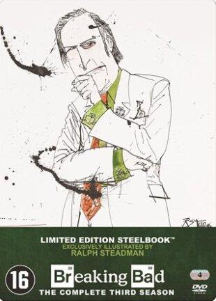 Breaking Bad - Saison 3 (Limited Edition, Steelbook, 4 DVDs)