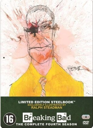 Breaking Bad - Saison 4 (Limited Edition, Steelbook, 4 DVDs)