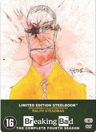 Breaking Bad - Saison 4 (Limited Edition, Steelbook, 4 DVDs)