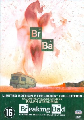 Breaking Bad - Saisons 1-5.2 - Intégrale de la série (Limited Edition, Steelbook, 21 DVDs)