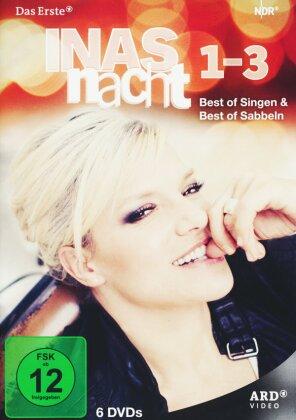 Inas Nacht 1-3 - Best of Singen & Best of Sabbeln (6 DVDs)