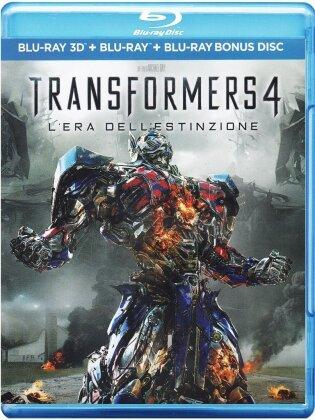 Transformers 4 - L'era dell'estinzione (2014) (Blu-ray 3D + 2 Blu-ray)