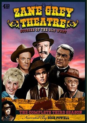 Zane Grey Theatre - Season 3 (4 DVDs)