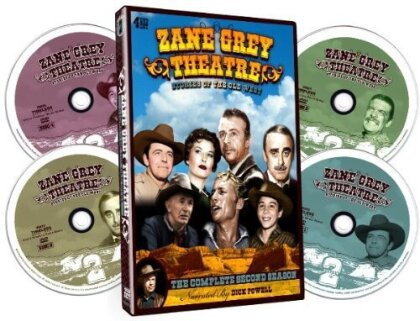 Zane Grey Theatre - Season 2 (4 DVDs)
