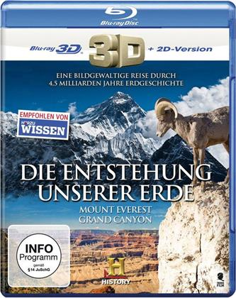 Die Entstehung unserer Erde - Mount Everest / Grand Canyon
