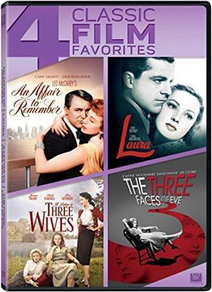 An Affair to Remember / Laura / A Letter to Three Wives / The Three Faces of Eve - 4 Classic Film Favorites