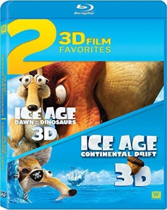 Ice Age 3: Dawn of the Dinosaurs (2009) 3D / Ice Age 4: Continental Drift (2012) - 2 3D Film Favorites