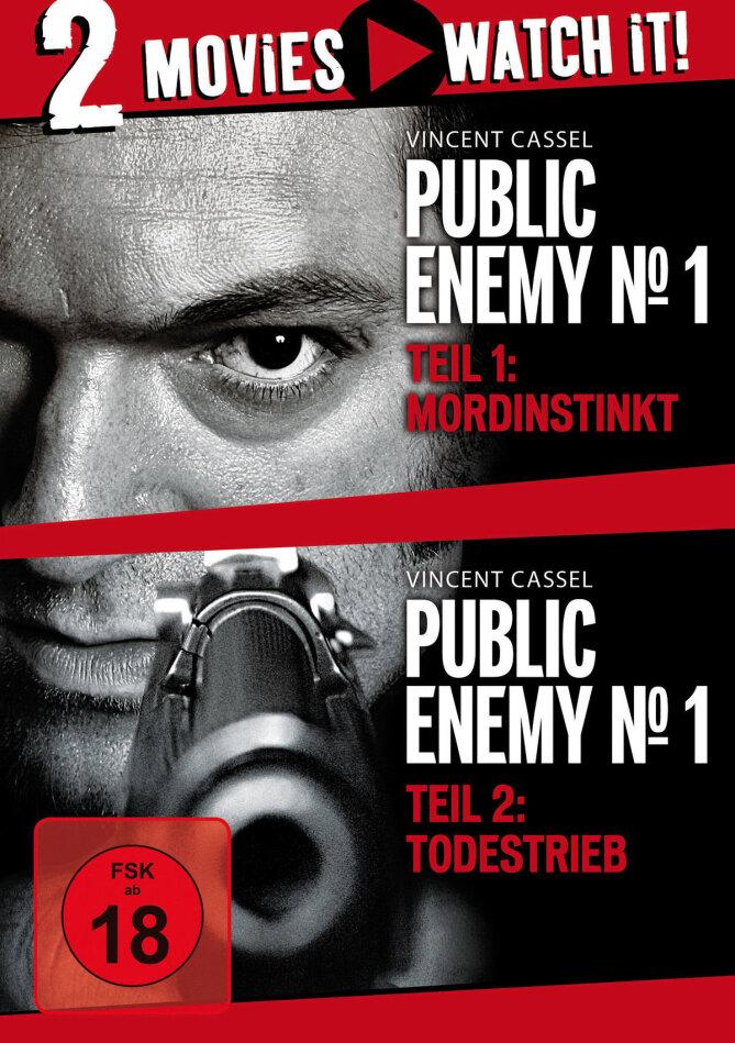 Public Enemy No. 1 - Mordinstinkt / Todestrieb - Mesrine (2008) (Neuauflage, 2 DVDs)