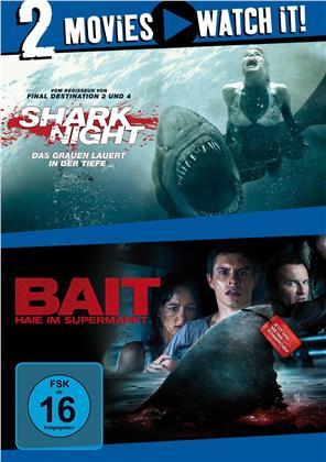Shark Night / Bait - Haie im Supermarkt (2 DVDs)