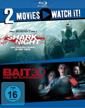 Shark Night / Bait - Haie im Super Markt (Blu-ray + Blu-ray 3D (+2D))