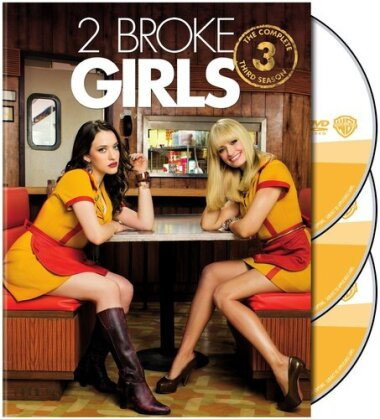 2 Broke Girls - Season 3 (3 DVDs)
