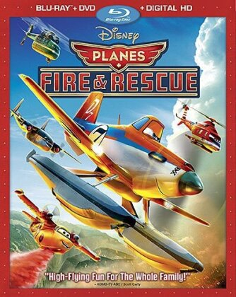 Planes 2 - Fire & Rescue (2014) (Blu-ray + DVD)