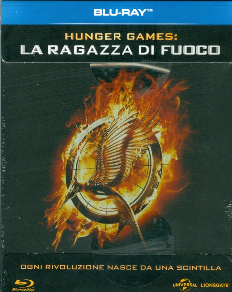 Hunger Games 2 - La ragazza di fuoco (2013) (Limited Edition, Steelbook)